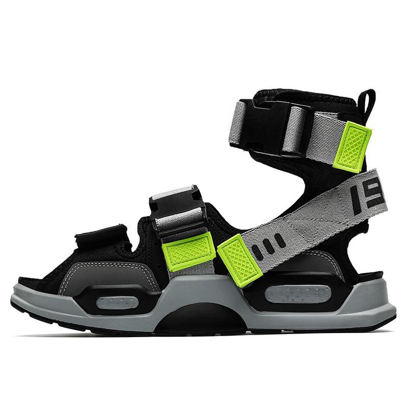 sandalet ete verão sapatos de plataforma sandale couro aleta homme lâminas para verano homem gladiador clássico romano-flops sandálias mens