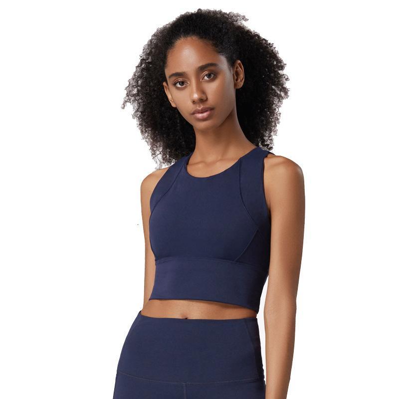 Yoga Top aptitud de las mujeres Nylon sin costuras se divierte la camiseta delgada atractiva del culturismo ropa interior sujetador push-up de secado rápido de la cosecha Top