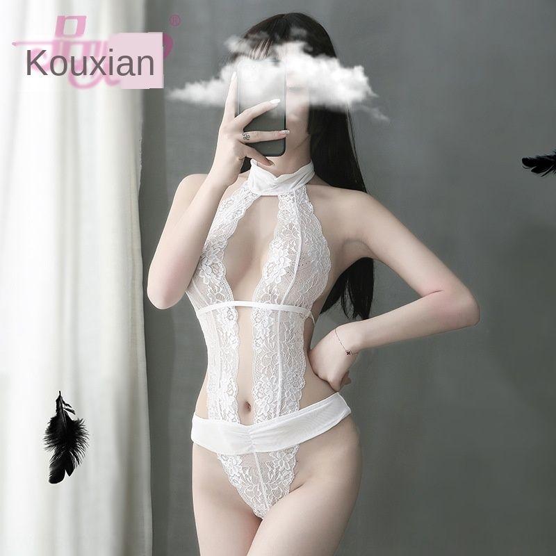 XBUZU 7sbX5 Pinxian caldo i pigiami sexy del merletto di estate un pezzo delle donne della biancheria intima set tentazione tentazione pizzo pigiama prospettiva nig