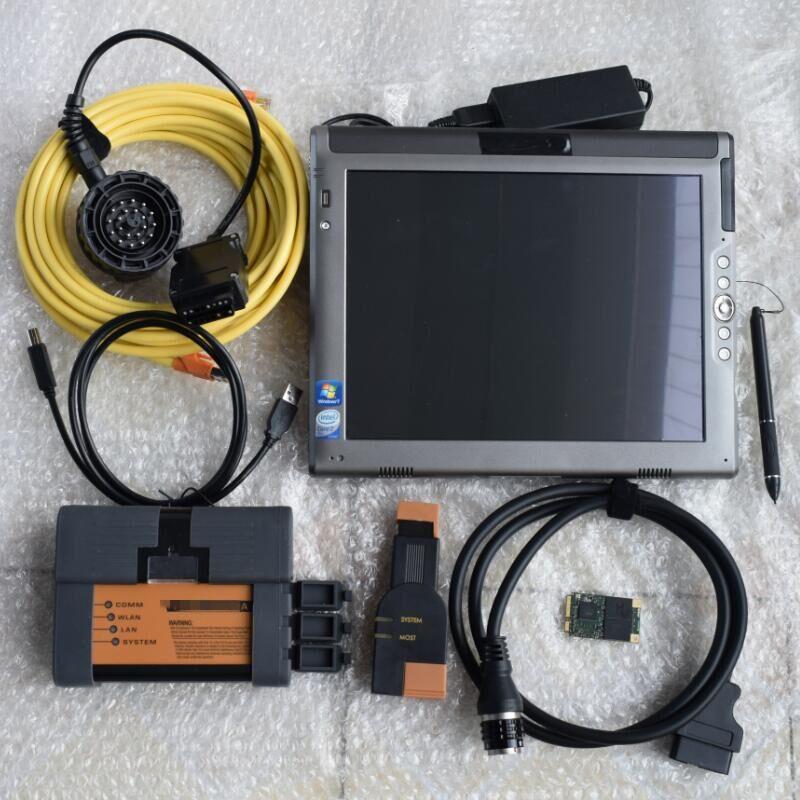 meilleur pour l'outil de programmation de diagnostic pour ICOM A2 B C avec 2020,3 Rheigold ISTA ISID Software SSD dans un ordinateur portable LE1700