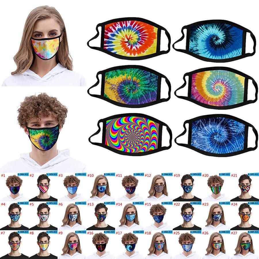 3D التعادل صبغ الوجه قناع Adlut وكيد حجم الغبار واقية ويمكن غسلها الضباب الدخاني واقية من الأزياء الطباعة الثلج الحرير أقمشة لدعم XD23445 مخصص
