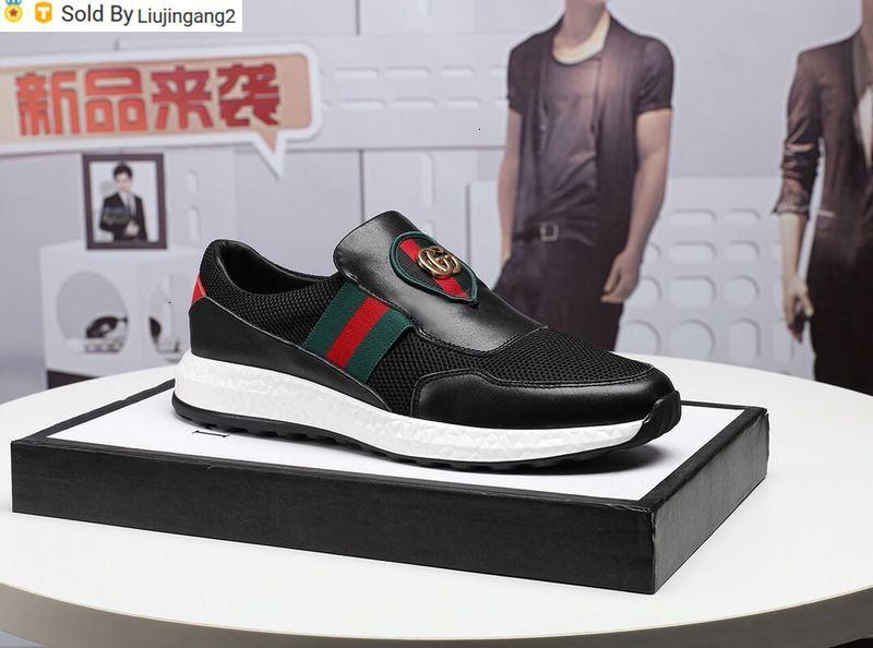 Liujingang2 2028 08 jeu paresseux pieds couture occasionnels filet respirant chaussures noir Buckles lacets Mocassins Pilotes