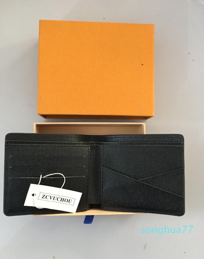 diseñador-carpetas del monedero carpeta de los hombres de la nueva marca billetera de cuero, la moneda Corto Moda Hombres monedero Arteira Masculina Hombres de bolsillo monedero