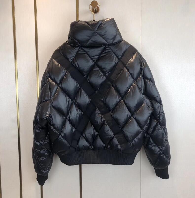 New Women Casual Jacket Down Coats Mulheres Outdoor suporte Quente Feather gola do casaco Casacos Casacos Parkas Inverno