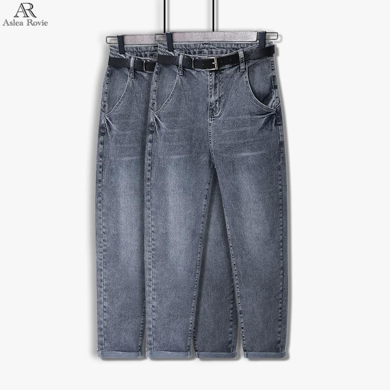 Jeans pour les femmes de haute taille New Taille Plus Cadrage en vrac Denim Mom sarouel CX200721