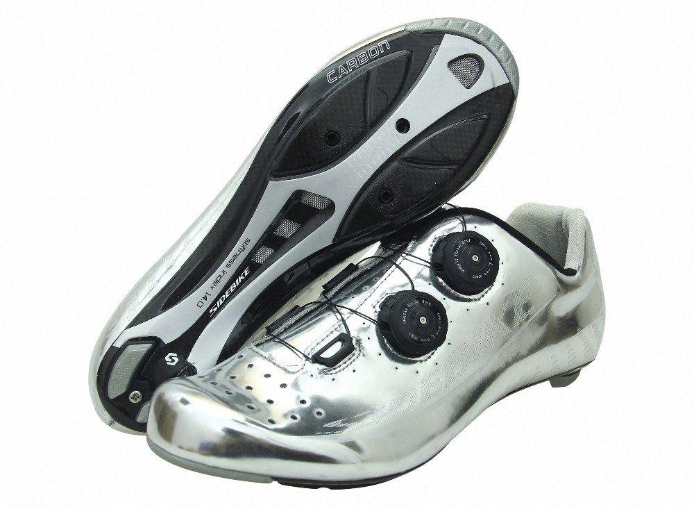 O envio gratuito de fibra profissional atacado carbono ciclismo sapatos autoblocante ROAD super leve e MTB sapatos ciclista bicicleta de estrada jsv6 #