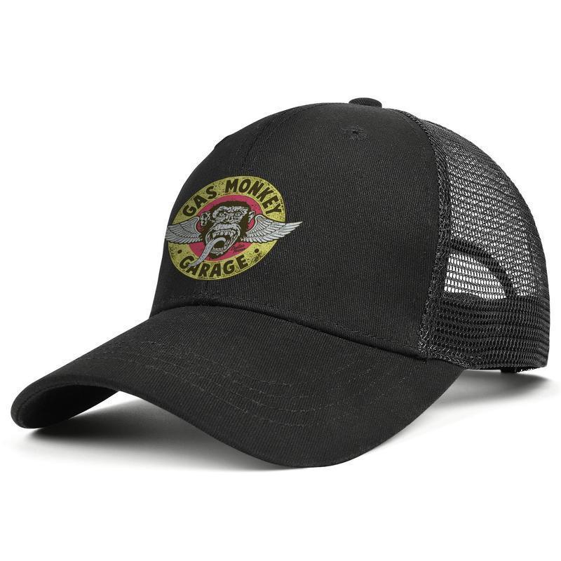 Gaz Maymun Garaj Merchandise GMG Bira Yardımcısı erkek ve ayarlanabilir kamyon şoförü meshcap özel womens 'özel moda baseballhats N takıldı