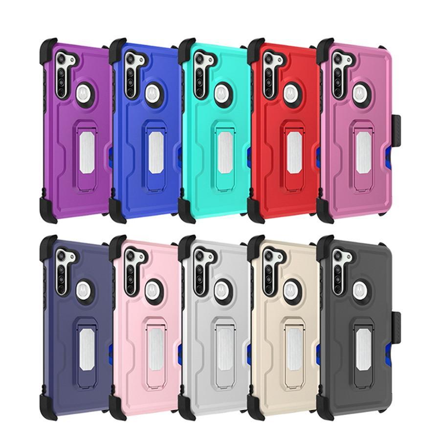 Для LG STYLO 6 LG K51 Aristo 5 Harmony 4 MOTO G БЫСТРО E 2020 случай мобильного телефона аксессуар телефон чехол с зажимом