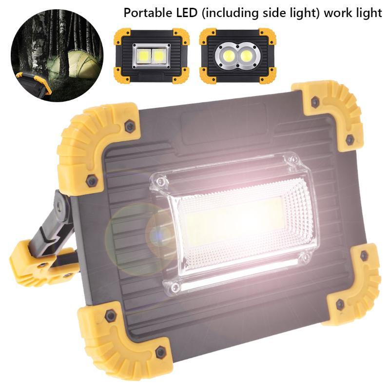 4 Light Modes Portable Spotlight Super Bright Led Work Light Rechargeable for Outdoor Camping Lampe Fishing Travel