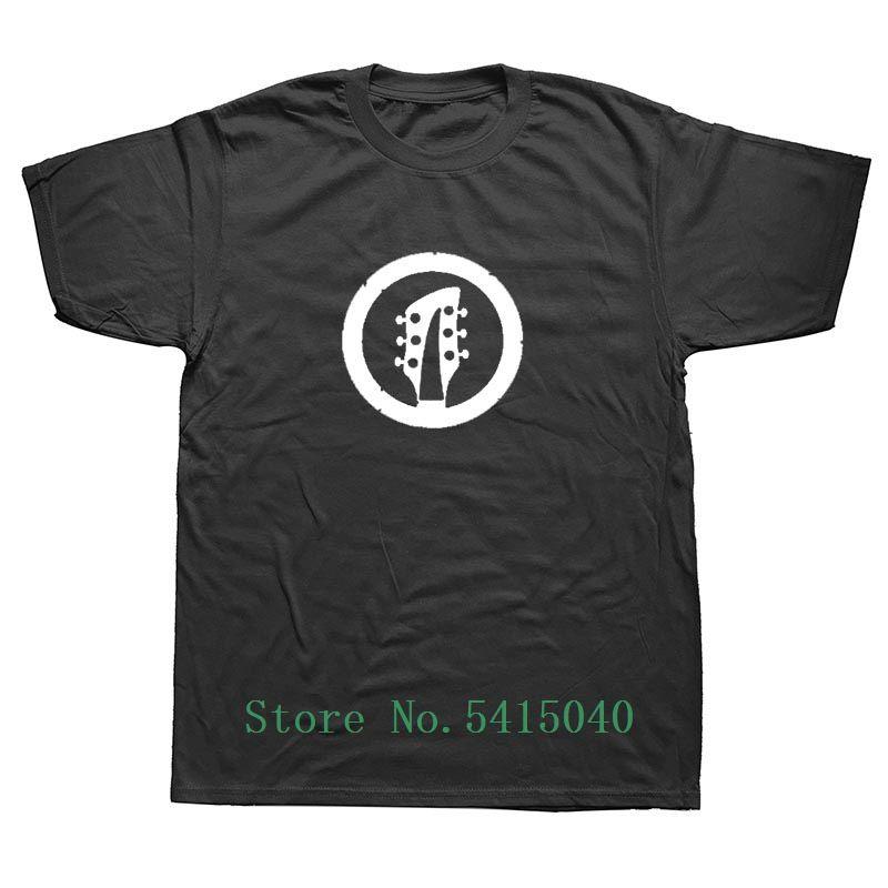 Música Weelsgao Marca roupas engraçadas Estilo Baixo Banda guitarrista de rock de Verão Músico Rocker Camiseta Guitarra T-shirt Heavy Metal