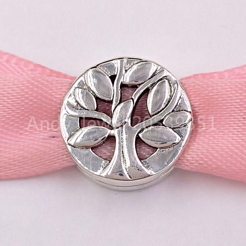 Autentico 925 perline d'argento 925 clip per la famiglia clip di fascino adatti a bracciali gioielli in stile Pandora europeo collana 797779