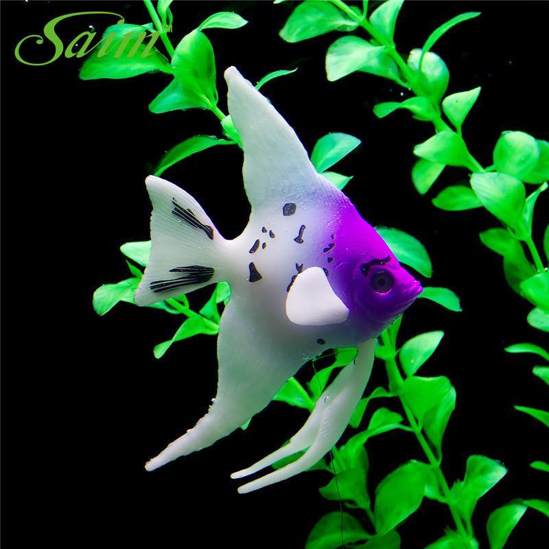 Submarine acquario in plastica Pesce Decor Pesce rosso Medusa Anemone Fish Tank Decorazione Acquario Underwater Ornamento per