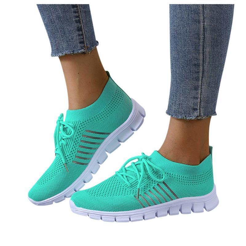 Sagace المرأة الصنادل المسطحة 2020 الصيف أزياء السيدات شبكة الدانتيل متابعة لينة أحذية الجري أسفل الرياضة عارضة أحذية الشاطئ الإناث