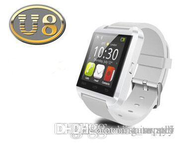 2020 cheap U8 smartwatch U8 Bluetooth Smart Watch Phone Mate For Android&IOS Iphone Samsung LG Sony