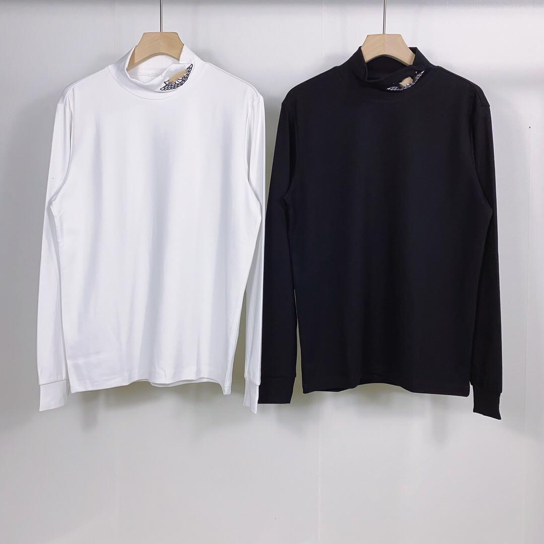 nueva camiseta larga de la camisa de los hombres de tendencia en primavera y otoño 2020 109