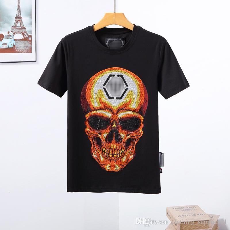 progettista magliette Mens Skull T-shirt di alta qualità di stampa t Tees maglietta mens Underwears pugili progettista del mens portafoglio yy97