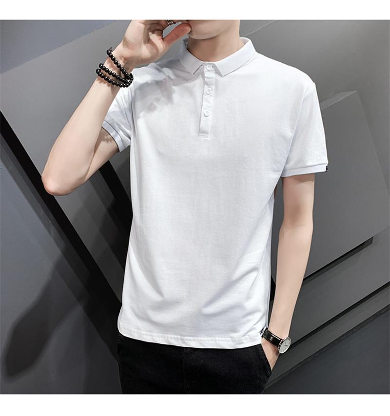 3D Floral Summer Mens Casual Polos Neck Slim Lapel Hommes Designer T-shirts manches courtes Tops droites Hommes de base