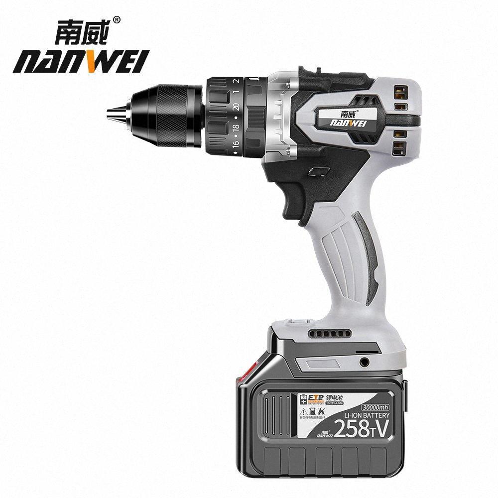 Heißer Verkauf bohren 30Ah 2batteries mit Schlagbohrmaschine Kit mit niedrigem Preis verkaufen 8ABa #