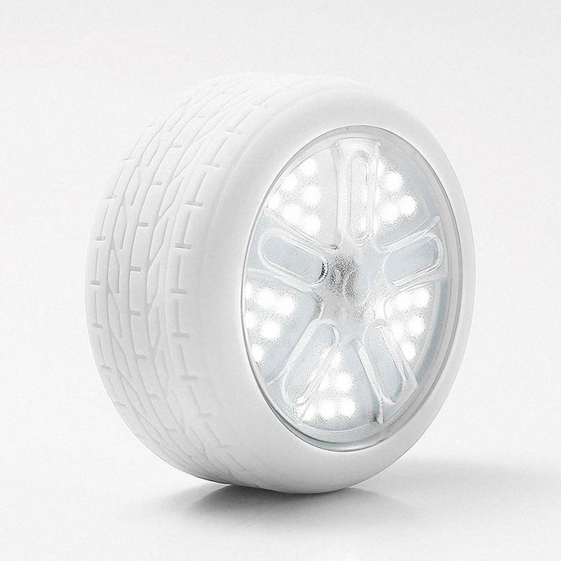 Creativa de Neumáticos RGB de luz de camping carpa Pesca vivac impermeable de la luz fuerte magnética remota Carpa Conterol LED vivac regalo EWny #