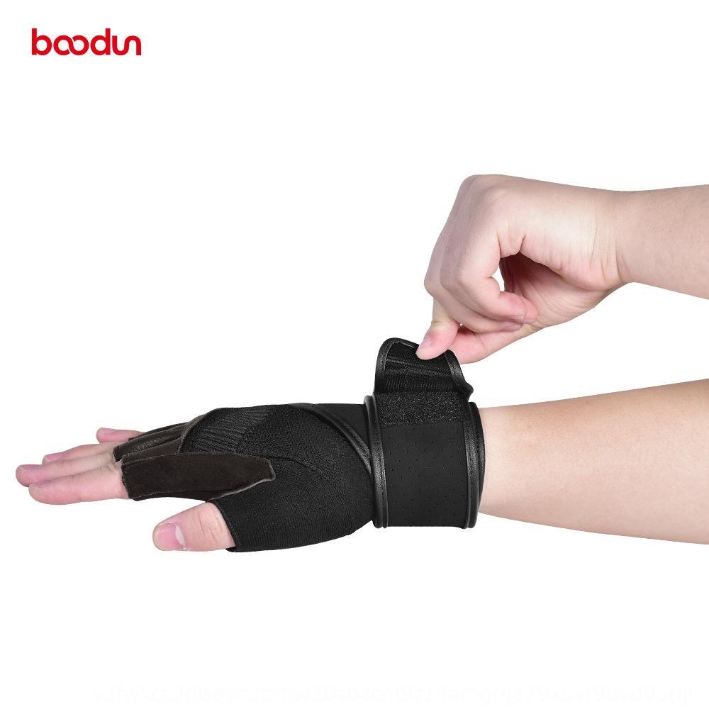 BOODUN / Bolton 20 novos metade pulseira dedo fitness e luvas de camurça alongado esportes luvas pulseira