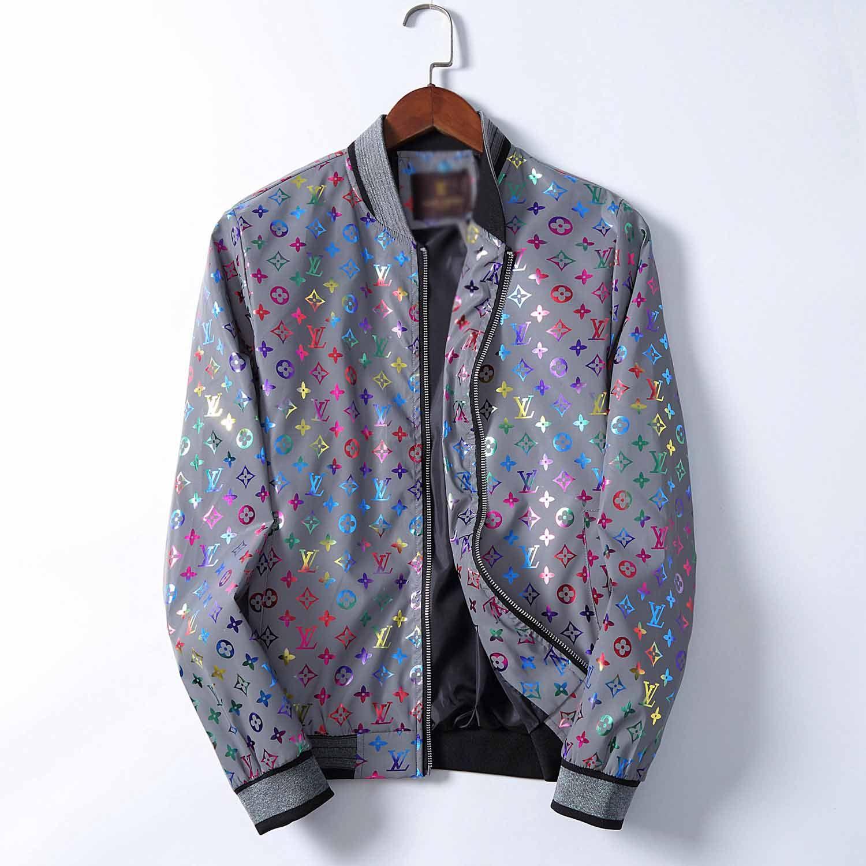 2020 otoño y el invierno de lujo nuevos hombres de la moda diseñador de ropa deportiva ropa de los hombres de la chaqueta