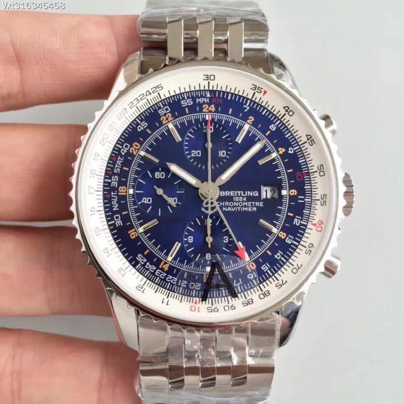 В 2020 году, JF Fine Seven-Pin GMT Aviation Timekice 7750 Движение Марка Мужской Часы Прекращенные Стальные Часы Дизайнер Часы Водонепроницаемые наручные часы