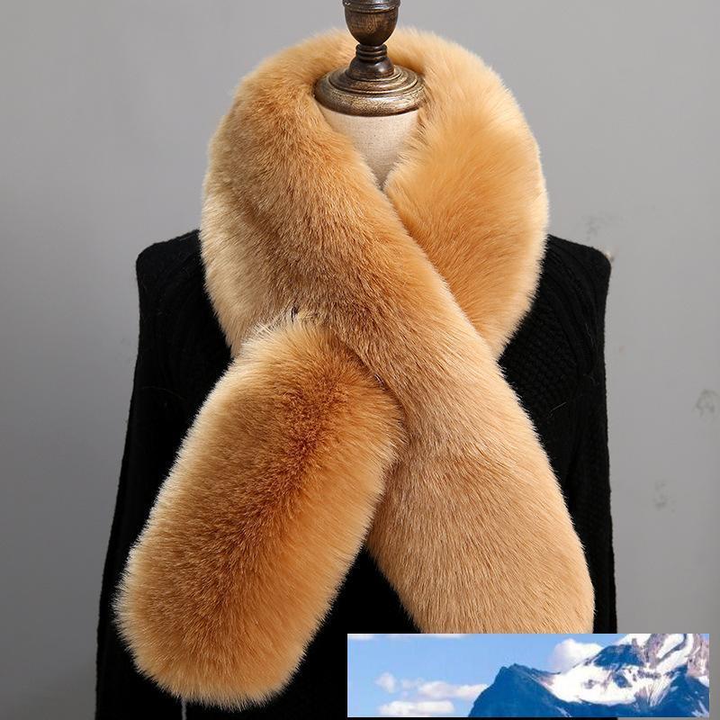 Kunstpelzkragen Schal für Frauen-Winter-Webpelz Cape Poncho Elegante Fluffly Warmen Schal Pelz-Ansatz-Wärmer Pashmina 6Q0235