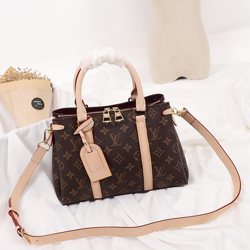 Drop Ship Womens Bag Sac Bandouli ERE Leder Totes Schulter-Umhängetaschen Top Handle Tote Messenger Bags Dame Luxus-Designer-Tasche Handtaschen