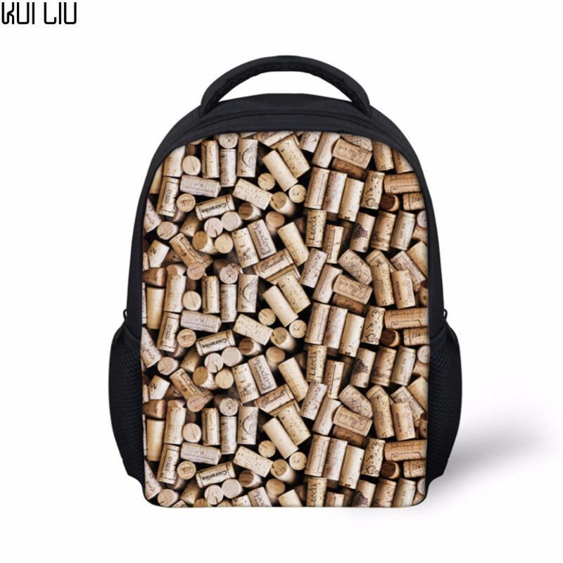 Customized Bilder 3D Schmuck Druck Schulranzen Bagpack Jungen Vintage 12Inch Kleinkind scherzt Schul Stilvolle Schul-Set Bag 2020