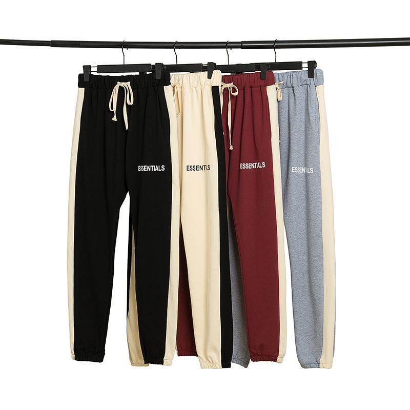 Il timore di Dio pantaloni Essentials california Uomo Stagione 6 20ss bambini di strada FOG pantaloni giovani donne Justin Bieber Kendrick Lamar pantaloni della ragazza del ragazzo