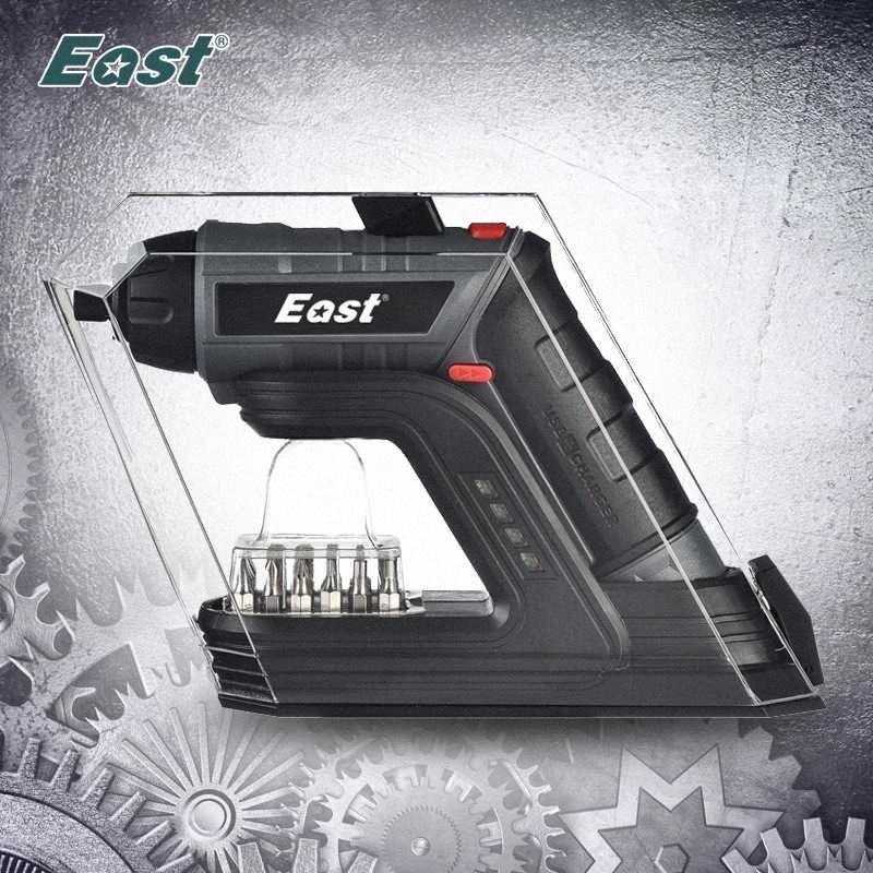 East 3.6V USB Беспроводная электрическая отвертка бытовой электросети Отвертка аккумуляторная литий-ионная Eo1Y #