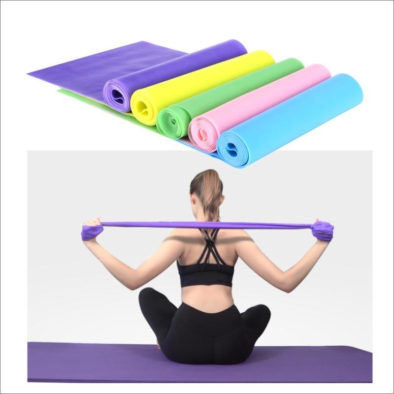 Aptitud de la gimnasia resistencia elástica de tracción de cuerda Yoga Yoga ejercitador cubierta Deportes Equipo de la aptitud para el gimnasio en casa accesorios Formación