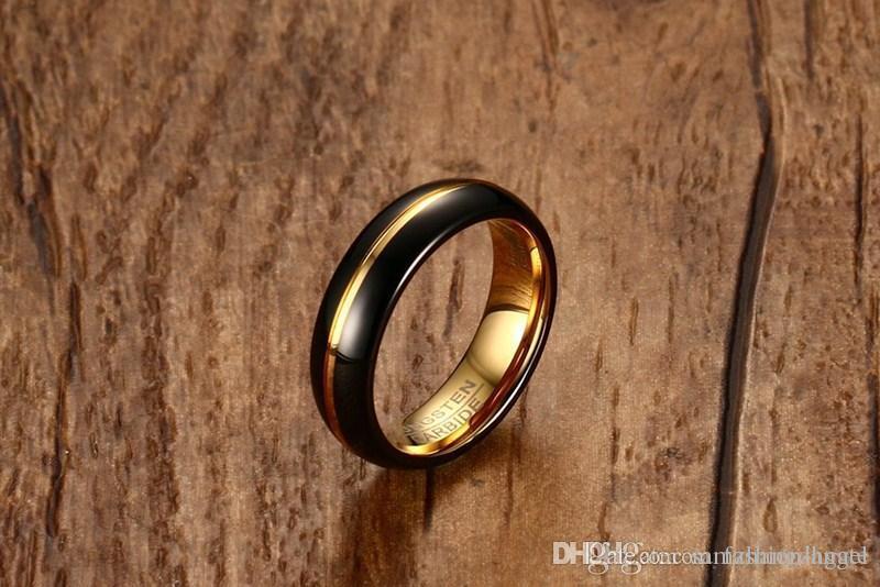 G62 Valentinstag Geschenk für Männer Wolframcarbid Ringe Wolfram Ring Hand Schmuck Fingerring Großhandel Mischauftrag Juwel Fabrik sup