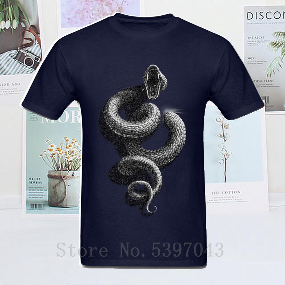 Serpente All'interno schizzo personalizzato Tops T shirt casual per ragazzi manica corta in cotone T shirt 100% girocollo camicia vestiti vendita calda