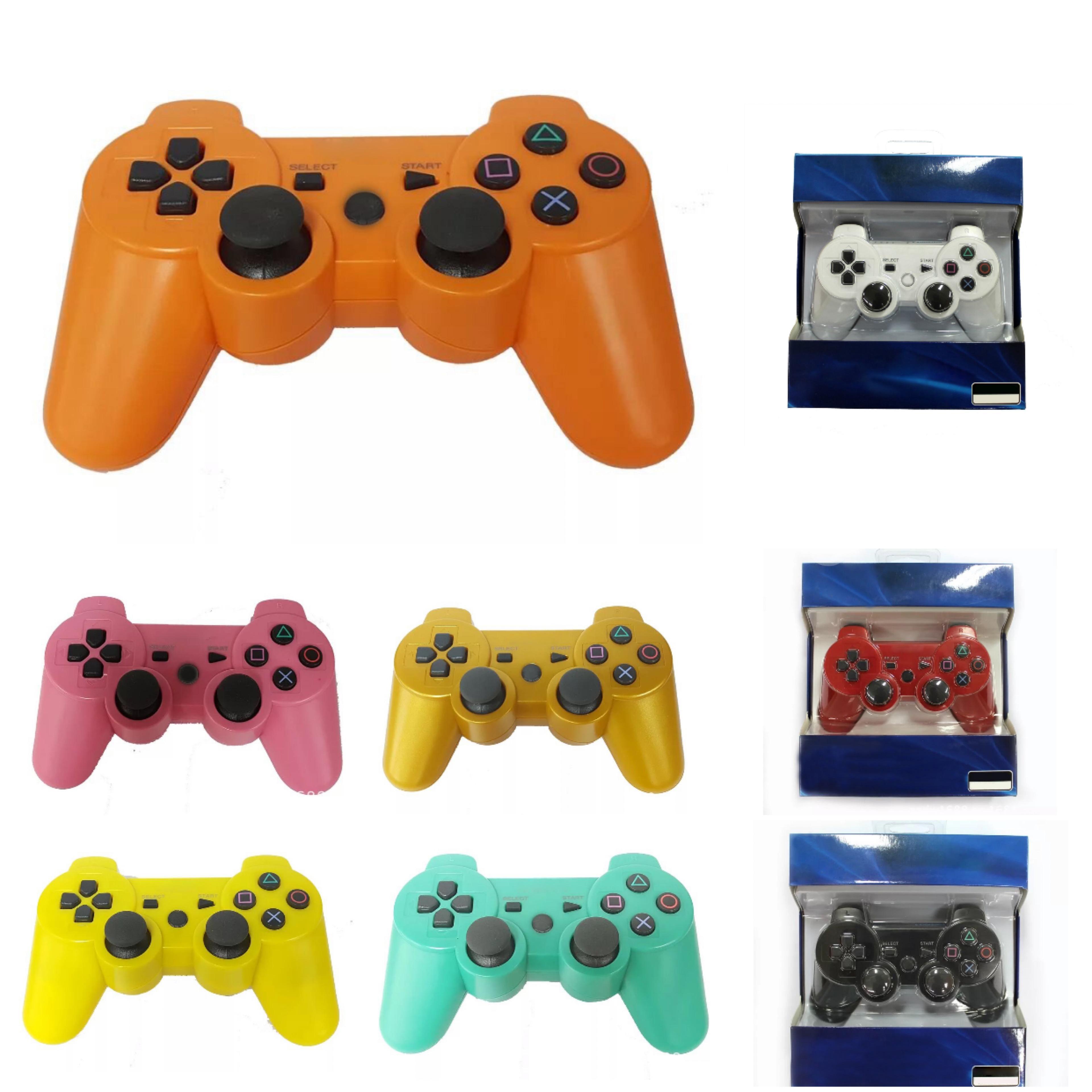 제품과 함께 PS3 진동 조이스틱 게임 패드 게임 컨트롤러에 대한 수송선 DUALSHOCK 3 무선 블루투스 컨트롤러