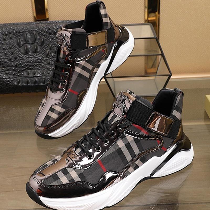 Rahat Erkek Ayakkabı Moda Tasarımcısı Açık Yürüyüş Footwears Vintage spor ayakkabısı Artı boyutu Düşük Top'un Casual Erkek Ayakkabı Chaussures pour hommes
