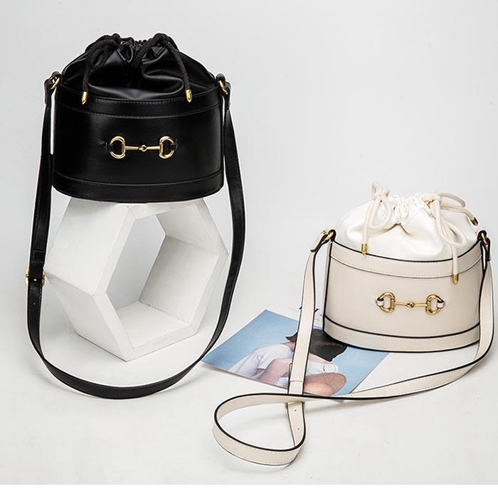 Designer- mode sac à bandoulière pour femmes Sacs à bandoulière en cuir PU Bucket Messenger Sacs à main desiger sac fourre-tout