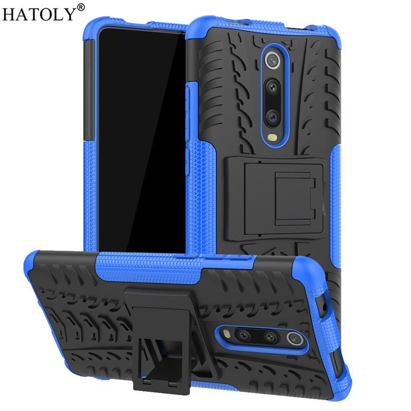 For Xiaomi 9T Mi 9 T Lite CC9 Pro Anti-knock Heavy Duty Armor Back Cover Silicone Phone Bumper Case Redmi Note 9S