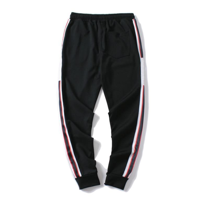 Hommes Pantalons Designer Made in Italy Hommes Nouveaux Sweatpants lettres imprimées 19FW Mode Joggers Pantalon de survêtement vêtements M-2X Taille asiatique