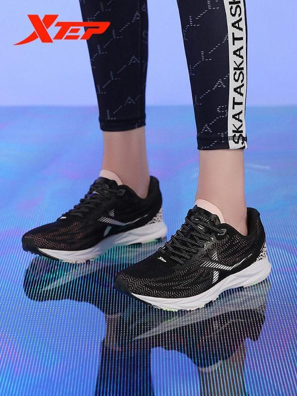 Xtep Marathon Scarpe Donna Running Shoes New Spring Outdoor Running Light Sport Sneakers 880218110138