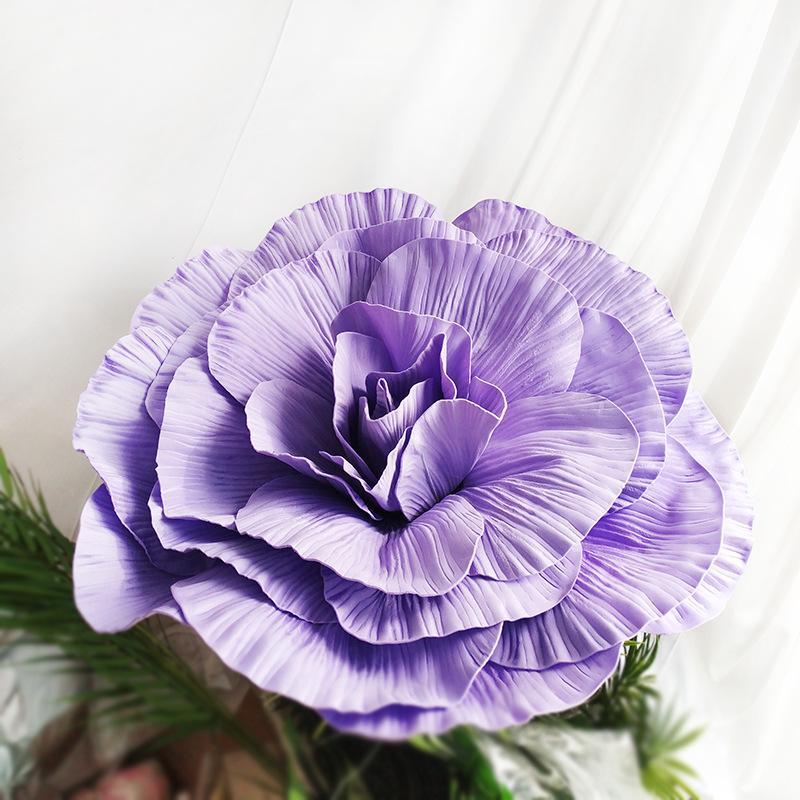Fai da te Grande Schiuma rosa Fiori dirigono a casa la festa di nozze Sfondo Fotografia muro di scena di modo della decorazione mestieri floreali