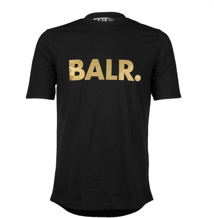 BALR BALR Runde Back Burred Bottom Qualität Männer Shirt T-Shirt Größe für T Back Top Clothing Rund Neue Lange Hohe Oansatz Shirt T Euro Tuas
