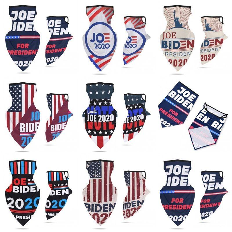 Joe Biden Bandanas Magic Scarf Riding Sport Mask Ear Hanging Type Cotton Face Masks General Election America 12 5ym E2