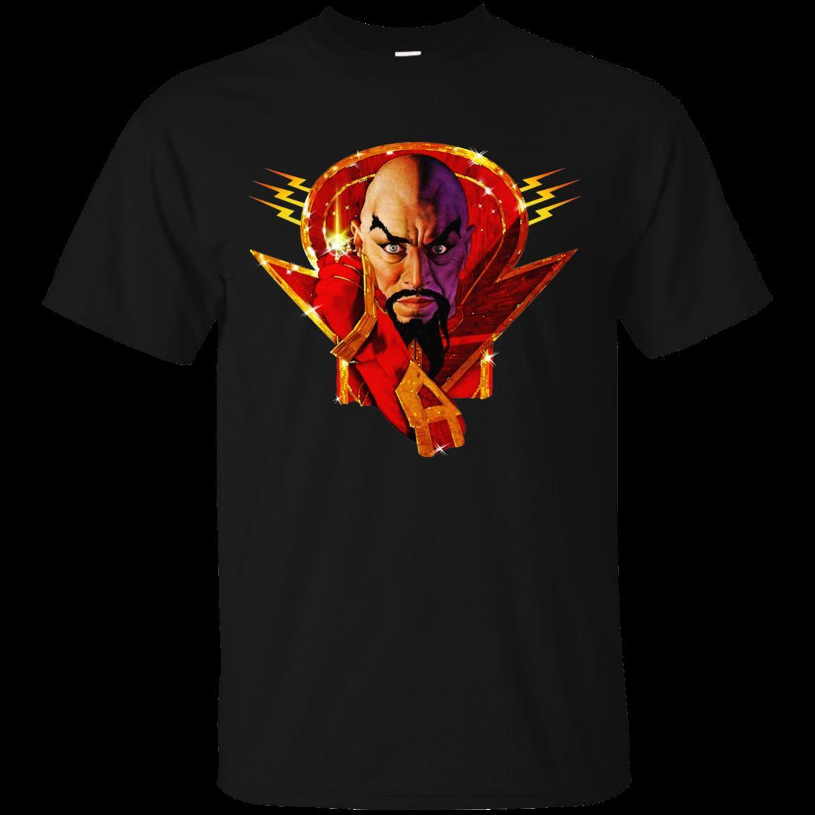 Ming spietato, Flash Gordon, Max von Sydow, 1980, villain, G240LS U freddo casuale orgoglio uomini della maglietta unisex