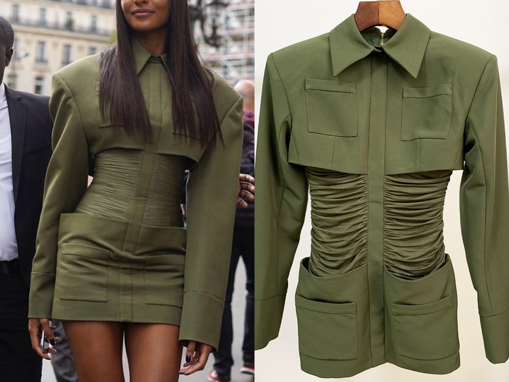 الأوروبية والأمريكية أحدث الموديلات نجم الانفجار سليم سميكة قميص الكتف حقيبة طوق مساء الورك فستان