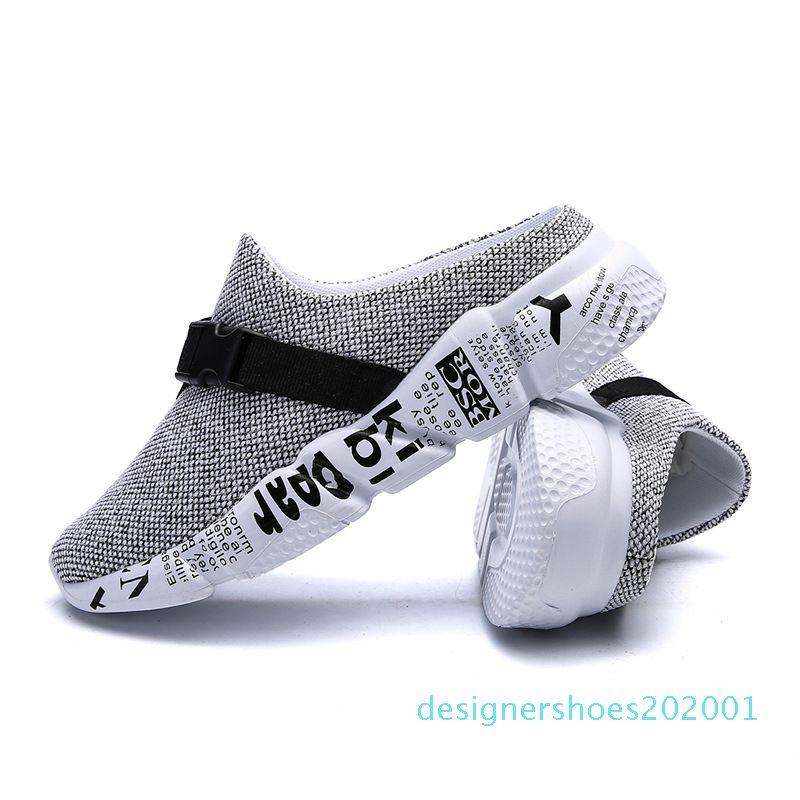 Lizeruee Tamanho 46 Homens Verão Chinelos Shoes Verão Sandals Lightweight Slides barato Calçado Mens Praia Chinelos CN10
