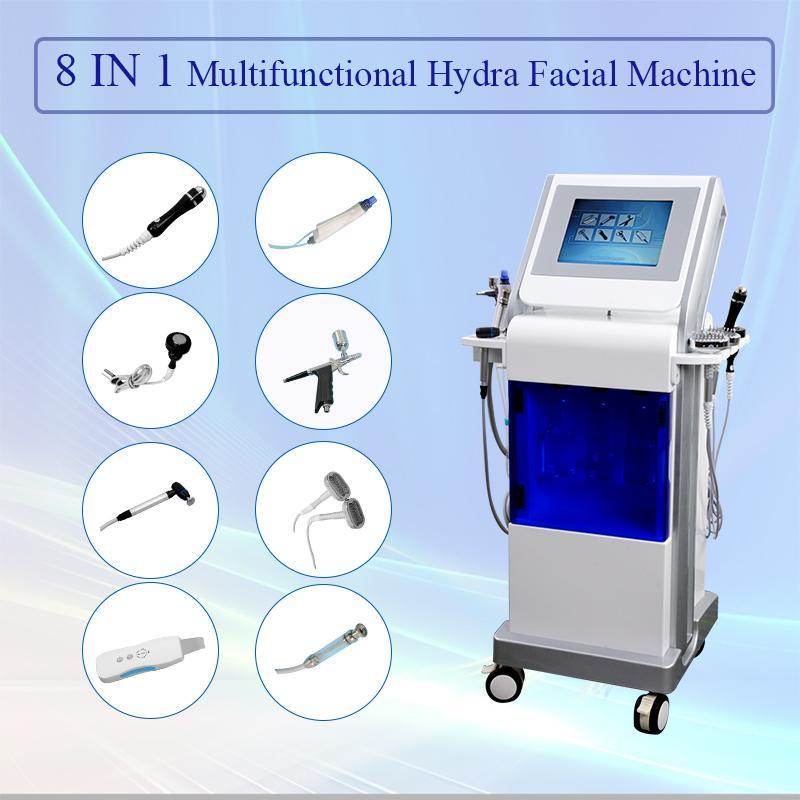 다기능 하이 드라 스킨 케어 장치 물 박피술 얼굴 기계는 알레르기 피부를 개선하고 Fineline CE 승인을 감소