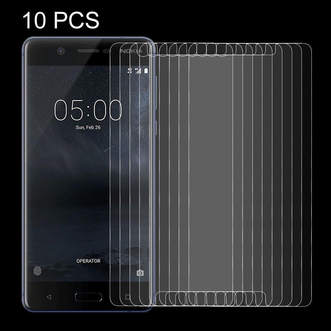 10 PCS per Nokia 5 0,26 millimetri 9H superficie durezza non a schermo intero a prova di esplosione dello schermo in vetro temperato Film