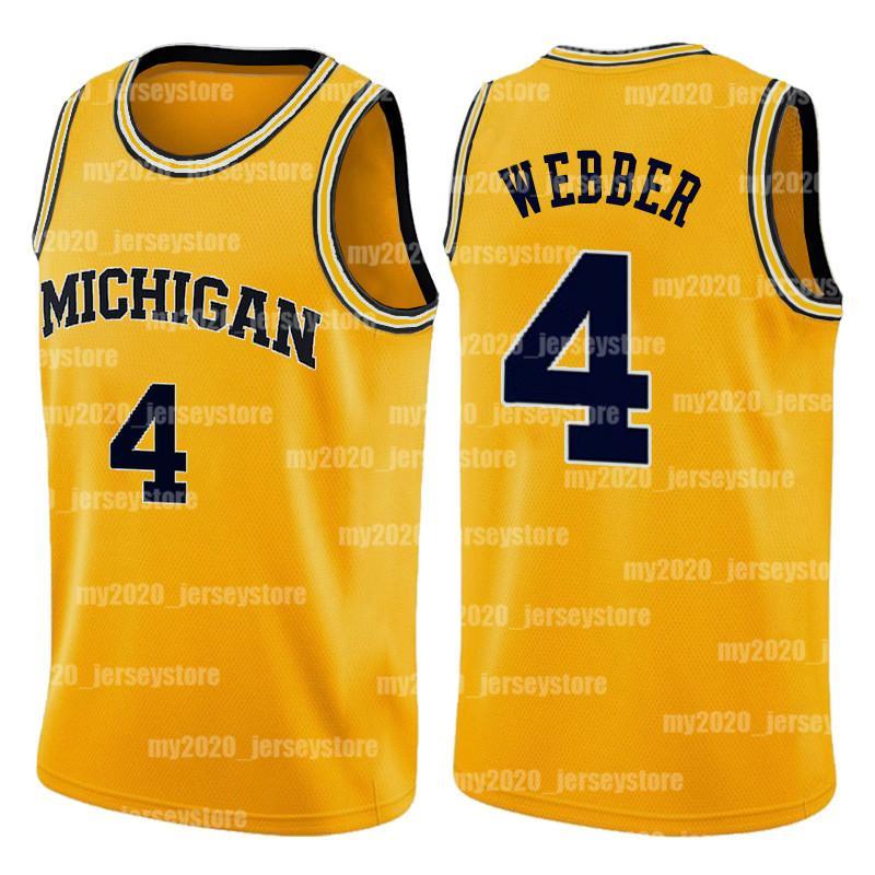 NCAA Michigan Wolverines Kolej Formaları Chris 4 Webber Trae 11 Genç Oklahoma Sooners Gary 20 Payton Skyline Lisesi Basketbol Forması