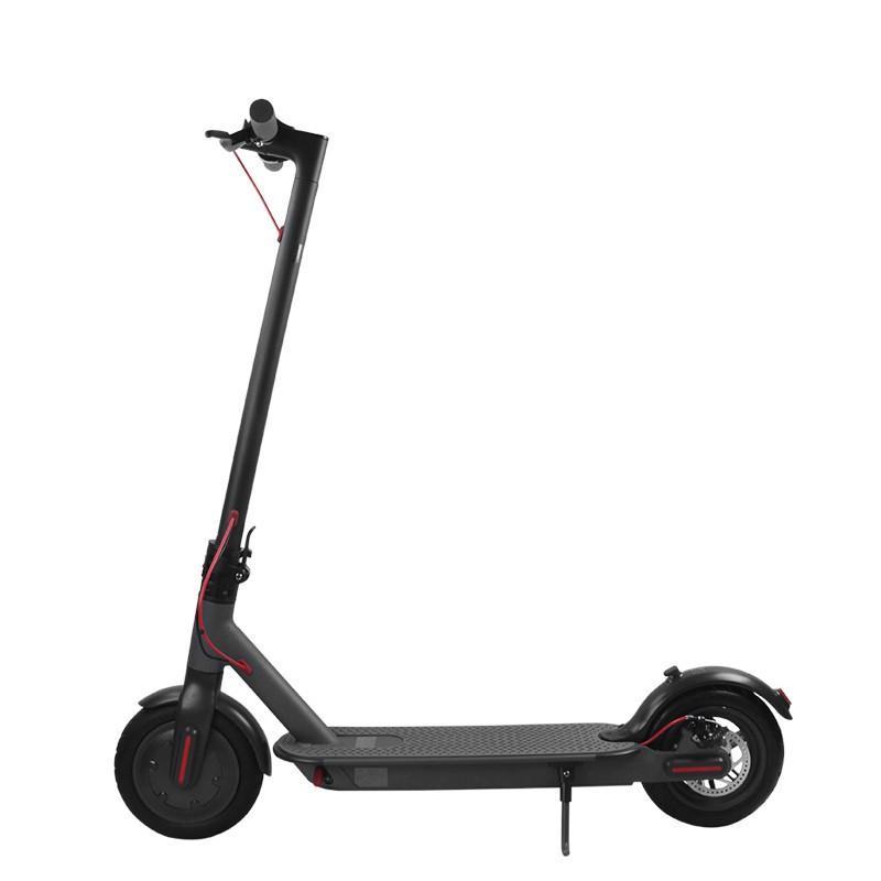 DE 영국 증권 접이식 전기 스쿠터 성인을위한 어린이 500W 접이식 E 킥 스쿠터와 앱 두 바퀴 스케이트 보드는 7 일 도착
